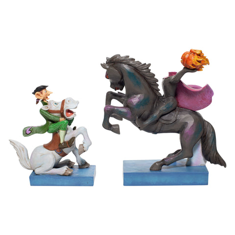 Enesco Disney Traditions Headless Horseman & Ichabod Statue