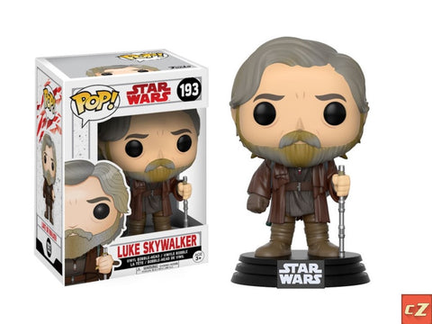Funko Pop! Star Wars: The Last Jedi Luke Skywalker #193 *New In Box* - CollectorZown