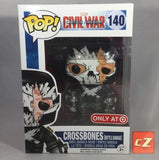 Funko Pop! Marvel: Captain America Civil War Battle Damaged Crossbones #140 Target Exclusive *New In Box* - CollectorZown