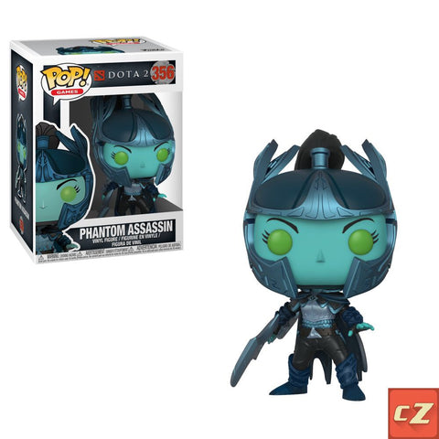 Funko Pop! Games: DOTA 2 Phantom Assassin #356 - collectorzown