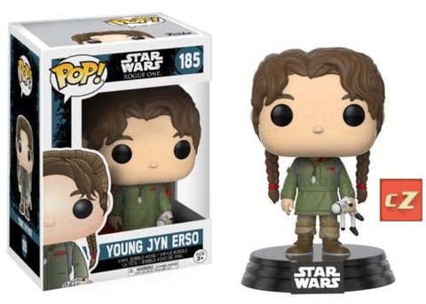 Funko Pop! Star Wars Rogue One Young Jyn Erso #185 *New In Box* - CollectorZown