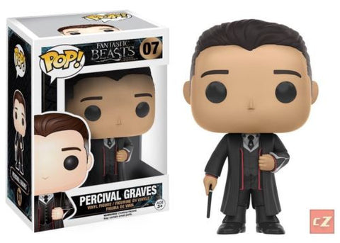 Funko Pop! Movies: Fantastic Beasts Percival Graves #07 *New In Box* - CollectorZown
