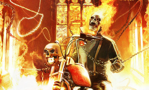 Sideshow Collectibles Ghost Rider Art Print