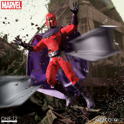PRE-ORDER: Mezcotoyz Marvel: Magneto One:12 Collective Action Figure