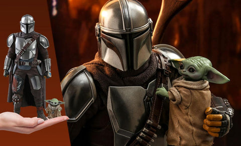 PRE-ORDER: Hot Toys The Mandalorian and The Child(Baby Yoda) Sixth Scale Figure