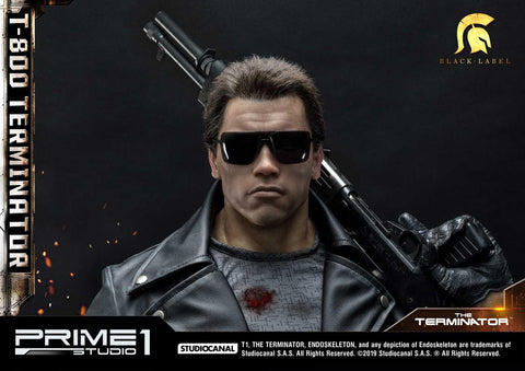 PRE-ORDER: Prime 1 Studio High Definition Museum Masterline Black Label The Terminator (Film) T-800 Terminator Statue