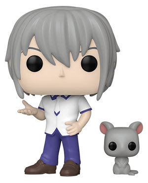Funko Pop! Animation: Fruits Basket Yuki Soma w/Rat Specialty Series Exclusive