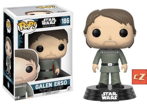 Funko Pop! Star Wars Rogue One Galen Erso #186 *New In Box* - CollectorZown