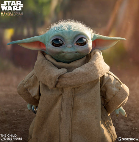 "PRE-ORDER: Sideshow Collectibles The Child ""Baby Yoda"" Life-Size Figure"
