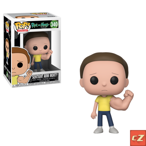 Funko Pop! Animation: Rick & Morty Sentient Arm Morty #340 - collectorzown