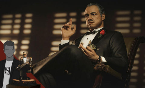 PRE-ORDER: Damtoys The Godfather Series: Vito Andolini Corleone (1972) Statue