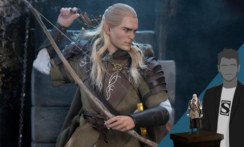 PRE-ORDER: Asmus Collectibles Legolas at Helm's Deep Sixth Scale Figure