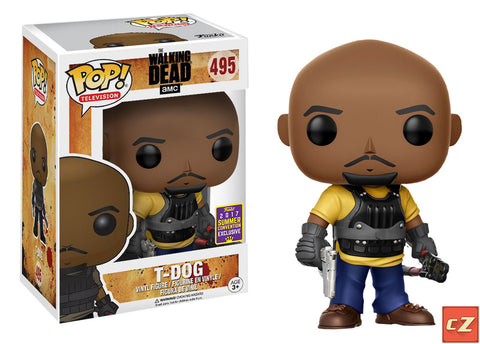 Funko Pop! Television: The Walking Dead T-Dog #495 Summer Convention Exclusive - collectorzown