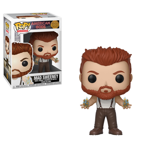 PRE-ORDER: Funko Pop! Television: American Gods - Mad Sweeney #681 - CollectorZown