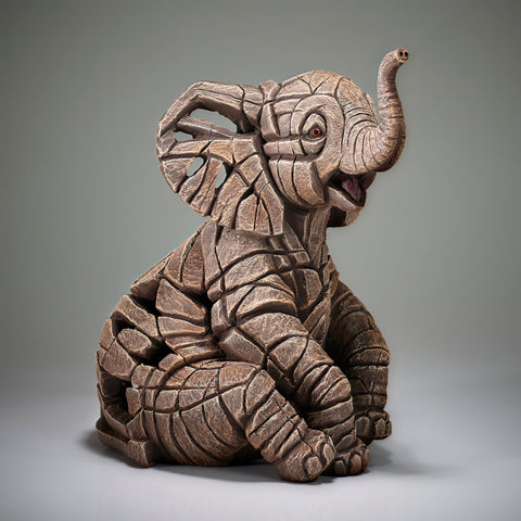 PRE-ORDER: Enesco Edge Sculpture Elephant Calf Statue