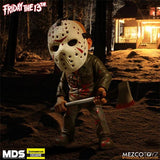 Mezcotoyz Friday The 13th Bloody Jason Voorhees GITD Mask Stylized Action Figure EE Exclusive Figure