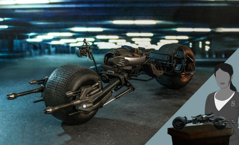PRE-ORDER: Hot Toys The Dark Knight Rises Bat-Pod Sixth Scale Figure Accessory