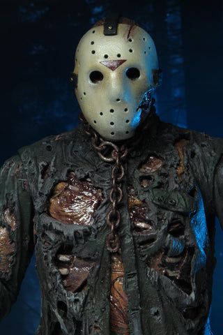 "PRE-ORDER: NECA Friday The 13th Ultimate Part 7 (New Blood) Jason 7"" Action Figue"