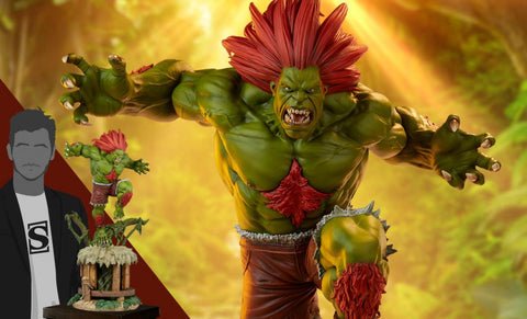 PRE-ORDER: PCS Collectibles Street Fighter Series Blanka Ultra 1:4 Scale Statue