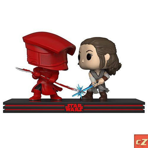 Funko Pop! Star Wars Movie Moments: The Last Jedi Rey & Praetorian Guard *New in Box* - CollectorZown