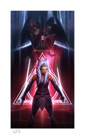 PRE-ORDER: Sideshow Collectibles Ahsoka Tano: Between Worlds Art Print
