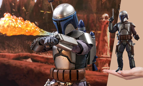 PRE-ORDER: Hot Toys Star Wars Jango Fett Sixth Scale Figure