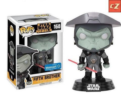 Funko Pop! Star Wars: Rebels Fifth Brother #168 Walmart Exclusive *New In Box* - CollectorZown
