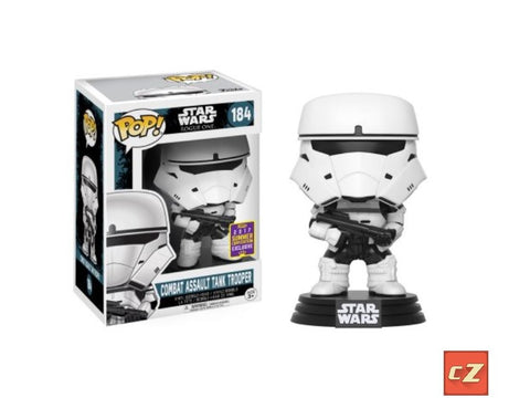 Funko Pop! Star Wars: Rogue One Tank Trooper #184 Summer Convention Exclusive - CollectorZown