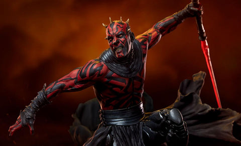 PRE-ORDER: Sideshow Collectibles Darth Maul Mythos Statue