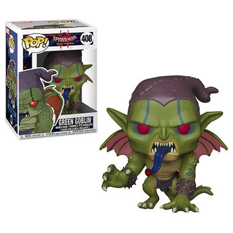 Funko Pop! Marvel: Spider-Man Into The Spiderverse Green Goblin #408