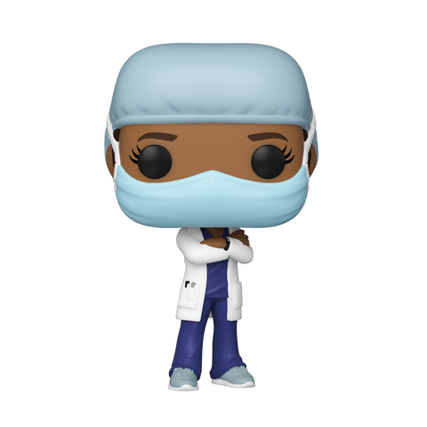 PRE-ORDER: Funko Pop! Heroes: Front Line Worker- Female #2