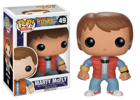 PRE-ORDER: Funko Pop! Movies: Back to the Future Marty McFly #49