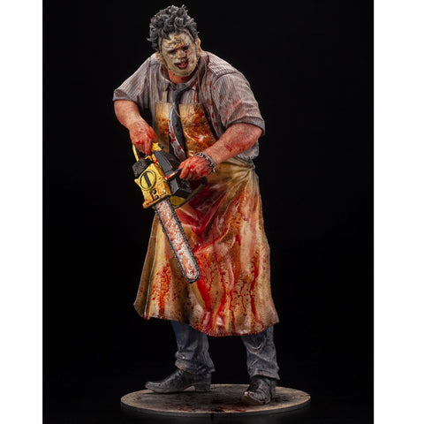 PRE-ORDER: Kotobukiya Texas Chainsaw Massacre Leatherface Slaughter ArtFX Statue Previews Exclusive