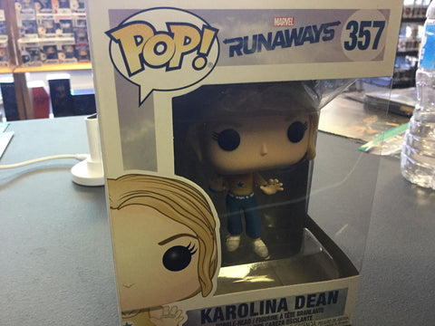Funko Pop! Marvel: Runaways Karolina Dean #357