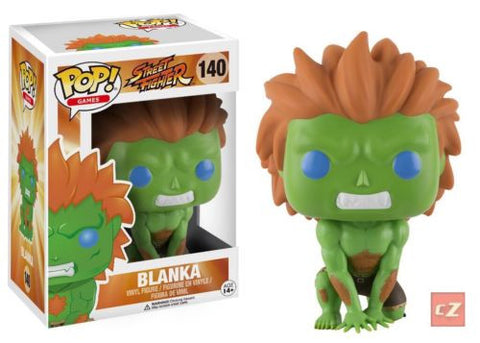 Funko Pop! Games: Street Fighter Blanka #140 *New In Box* - collectorzown