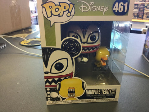 Funko Pop! Disney: NBC Vampire Teddy With Undead Duck #461