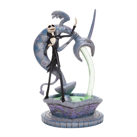 PRE-ORDER: Enesco Jack Skellington on Fountain Statue
