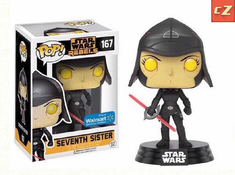 Funko Pop! Star Wars: Rebels Seventh Sister #167 Walmart Exclusive *New In Box* - CollectorZown
