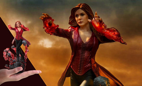 PRE-ORDER: Iron Studios Scarlet Witch 1/10 Scale Statue