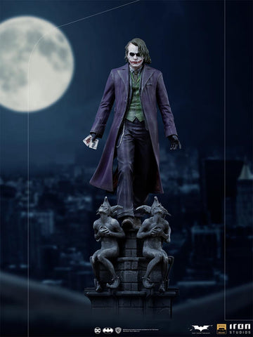 PRE-ORDER: Iron Studios The Dark Knight The Joker Deluxe 1/10 Scale Statue