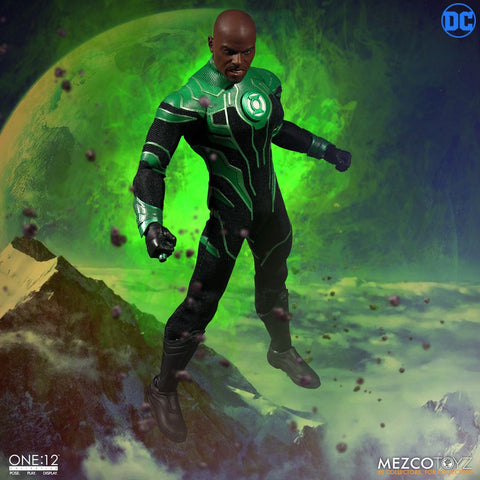 Mezcotoyz DC One:12 Collective John Stewart The Green Lantern Action Figure