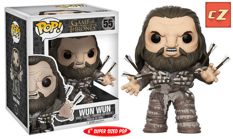 Funko Pop! Game of Thrones Super Sized Wun Wun #55 *New In Box* - collectorzown