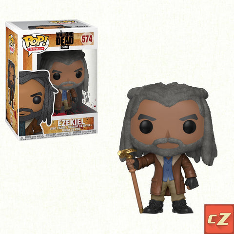 Funko Pop! Television: The Walking Dead Ezekiel #574 *New In Box* - CollectorZown