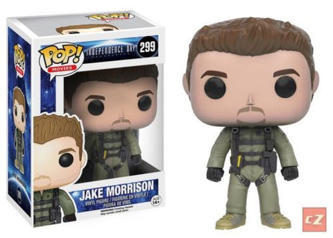 Funko Pop! Movies: Independence Day Resurgence Jake Morrison #299 *New In Box* - CollectorZown