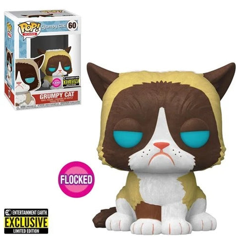 Funko Pop! Ad Icons: Grumpy Cat(Flockec) #60 Entertainment Earth Exclusive