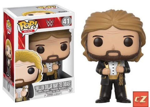 "Funko Pop! WWE ""Million Dollar Man"" Ted Dibiase #41 *New In Box* - CollectorZown"