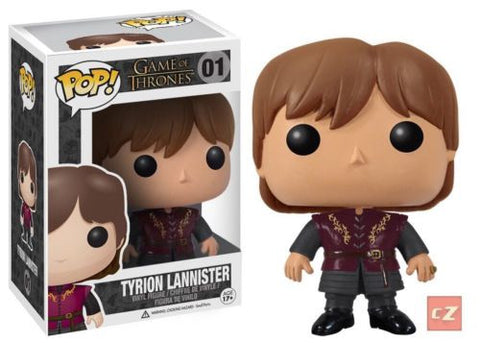 Funko Pop! Game Of Thrones Tyrion Lannister #01 *New In Box* - collectorzown