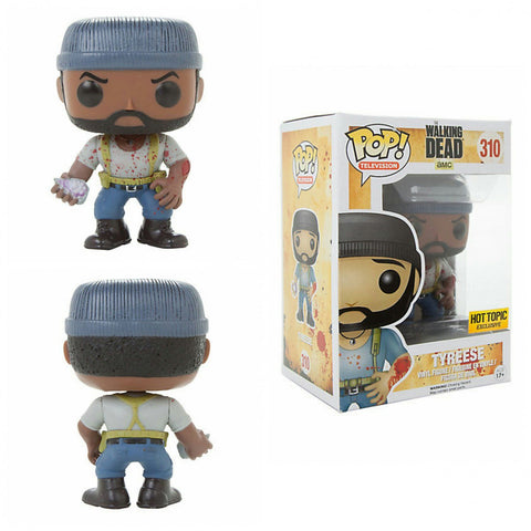 Funko Pop! Television: The Walking Dead Tyreese #310 Hot Topic Exclusive