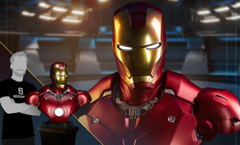PRE-ORDER: Sideshow Collectibles Iron Man Mark III Life Size Bust