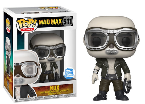 Funko Pop Movies: Mad Max Nux #511 Funko Shop Exclusive - collectorzown